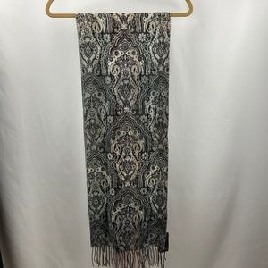 Fraas Cashmink Made in Germany Scarf Taupe NWT!